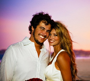 Kylie Bisutti and her husband