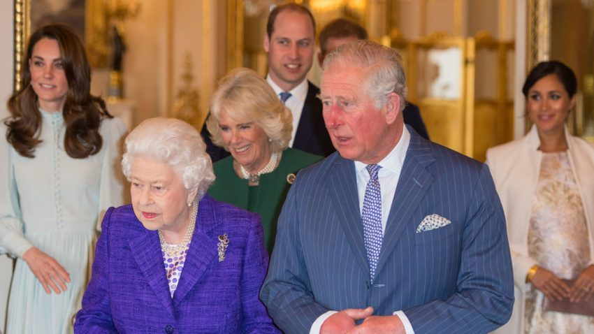 Royals celebrate Prince Charles' 'tireless work'