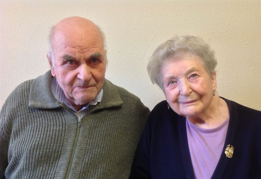 Platinum anniversary couple reveal their secrets to 70 years of marriage
