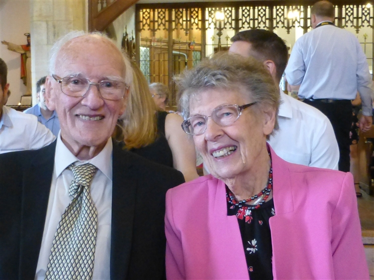 Maidstone couple Jean and Ian Henderson celebrate 70th wedding anniversary