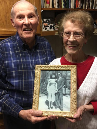 Celebrating 70 years with Billy and Peggy Prater