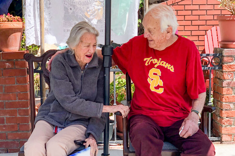 A Lifetime of Love: USC Sweethearts Celebrate 70 Years in Style Despite Pandemic