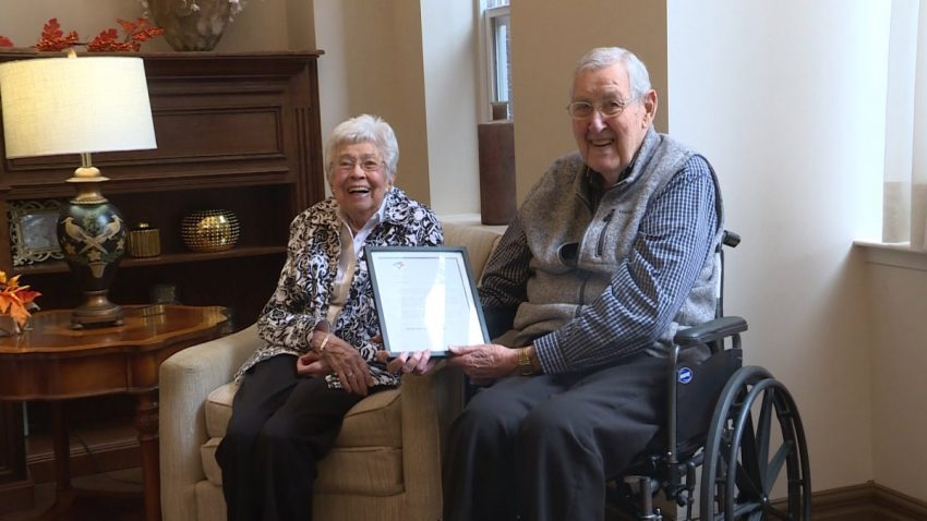 Kingston couple celebrate 70 years of marriage